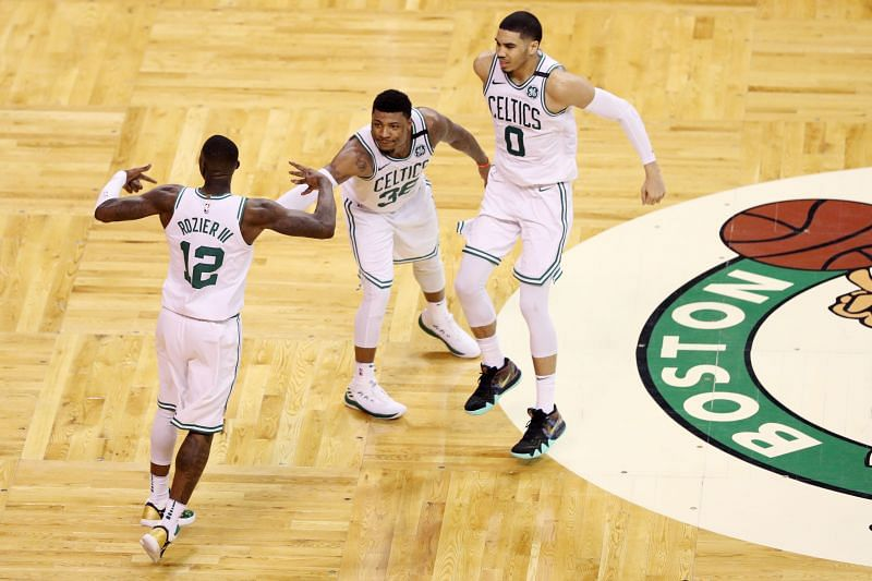 Marcus Smart has been part of the Celtics since 2014