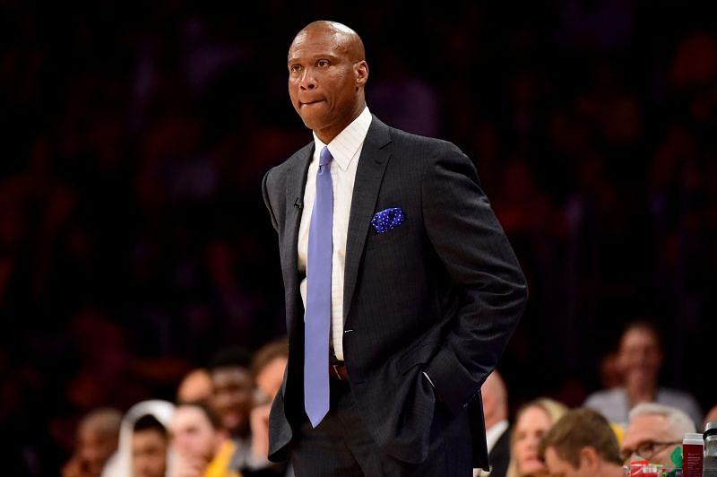 Former LA Lakers head coach Byron Scott