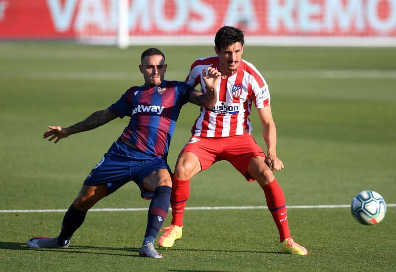 Roger Marti is injured for Levante