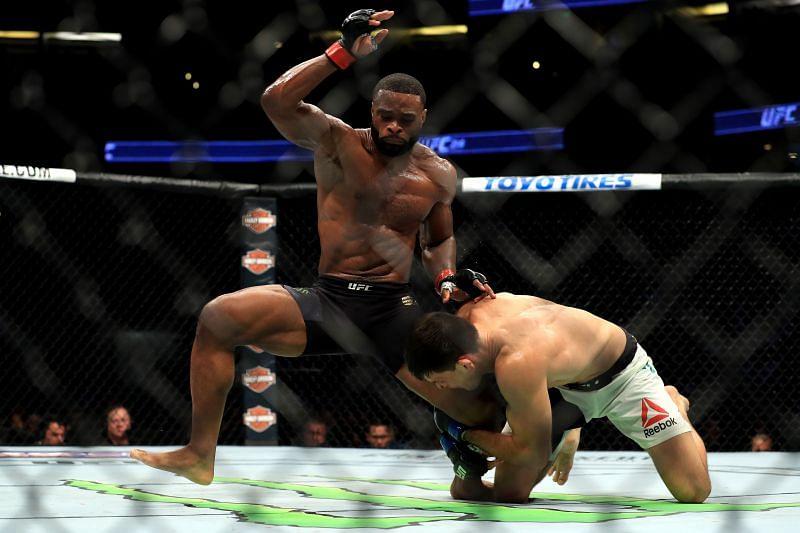 UFC 214 Tyron Woodley vs. Demian Maia