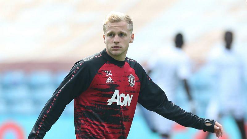 Man Utd midfielder Donny van de Beek