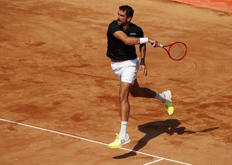 Marin Cilic will face Casper Ruud in the Rome third round