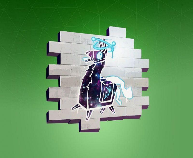 Fortnite Wallpaper Spray Paint Fortnite How To Claim The Llamalaxy Spray And 1000 Vbucks In Season 4