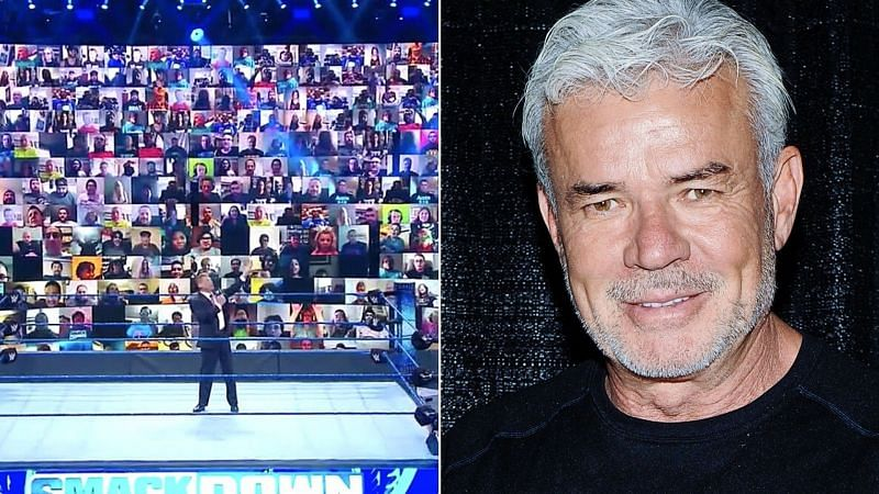 Eric Bischoff is a big fan of the WWE ThunderDome