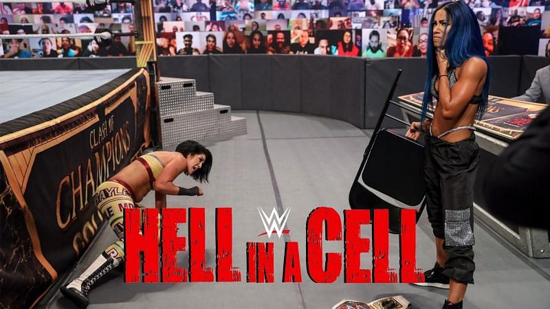 Sasha Banks and Bayley could be set to face off inside Hell in a Cell