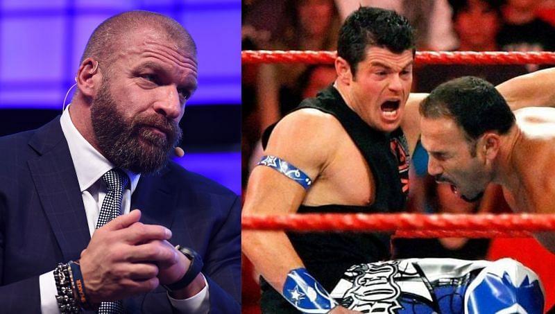 Triple H; Matt Sydal wrestling Chavo Guerrero in WWE