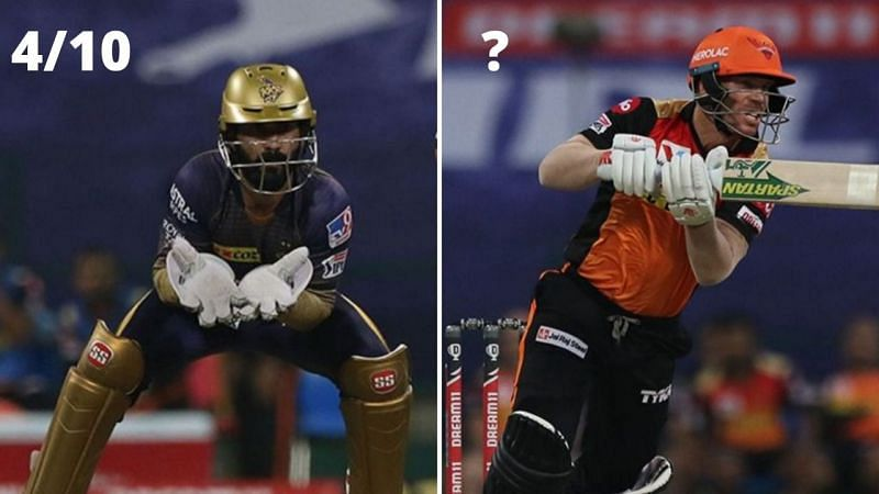 KKR skipper Dinesh Karthik bagged a duck but was excellent with his captaincy