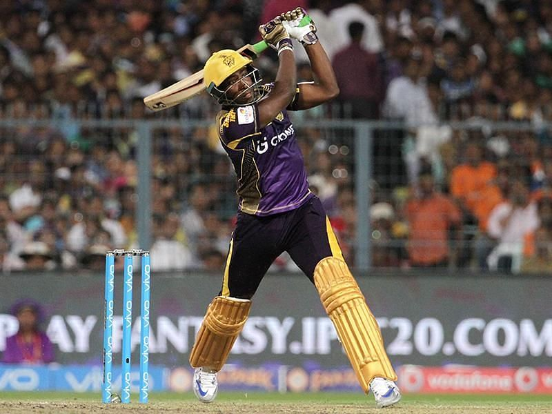 Andre Russell is only the second player to hit more than 50 sixes in a season.