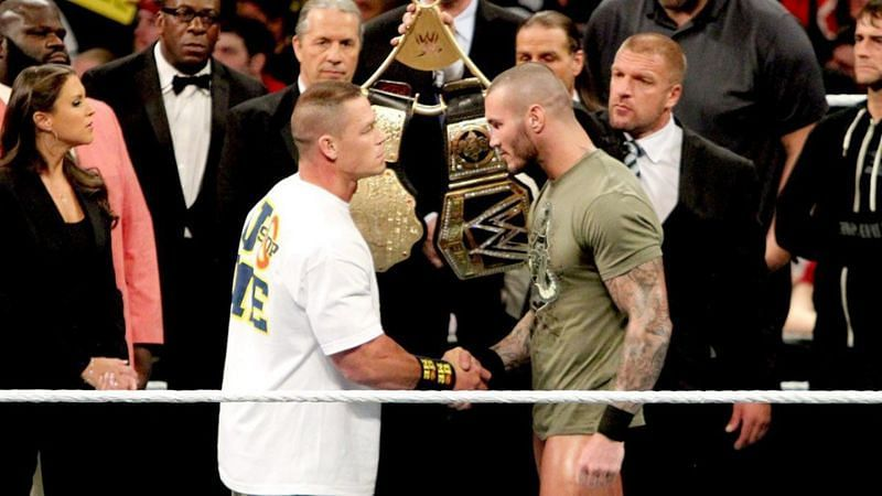 John Cena and Randy Orton faced off before WWE TLC 2013