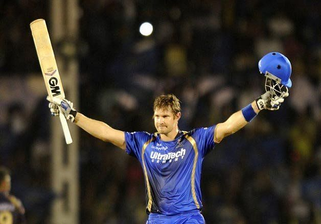 Shane Watson is a 2-time MVP award winner with RR in the IPL