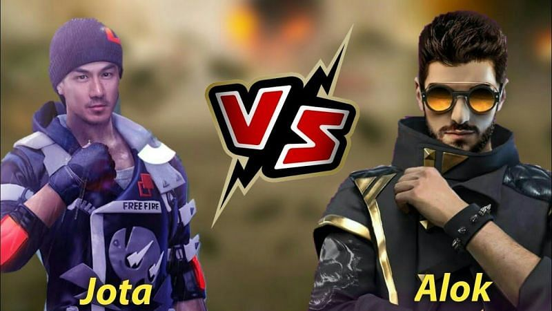 DJ Alok vs. Jota: Comparing their abilities(Image Credits: Pirate Gaming Tamil / YouTube)