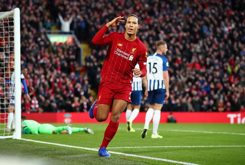 Virgil van Dijk is the benchmark for players in his position