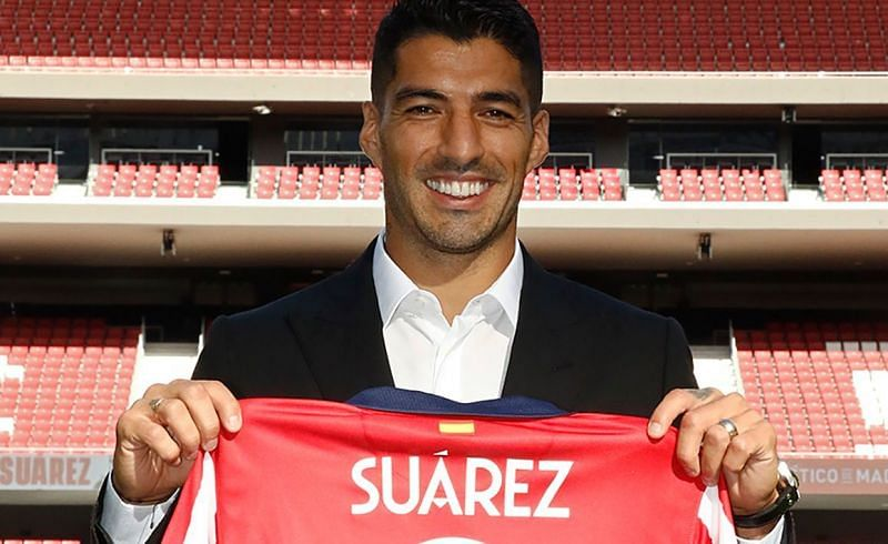 Atletico Madrid have completed the signing of Luis Suarez