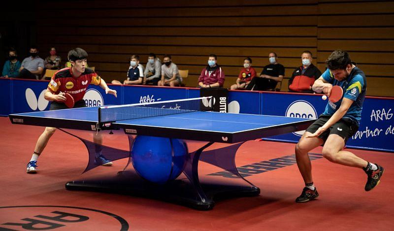 टेबल टेनिस