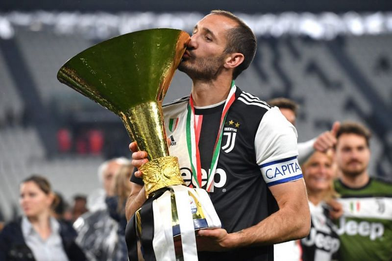The legendary Giorgio Chiellini could be captaining Juventus for one last season before he retires.