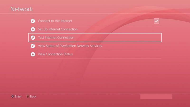 Test Internet Connection