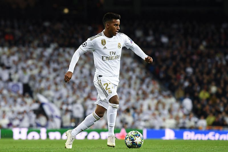 Real Madrid youngster Rodrygo