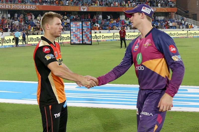 Warner and Smith were banned from the IPL in 2018 (Picture credit: iplt20.com)
