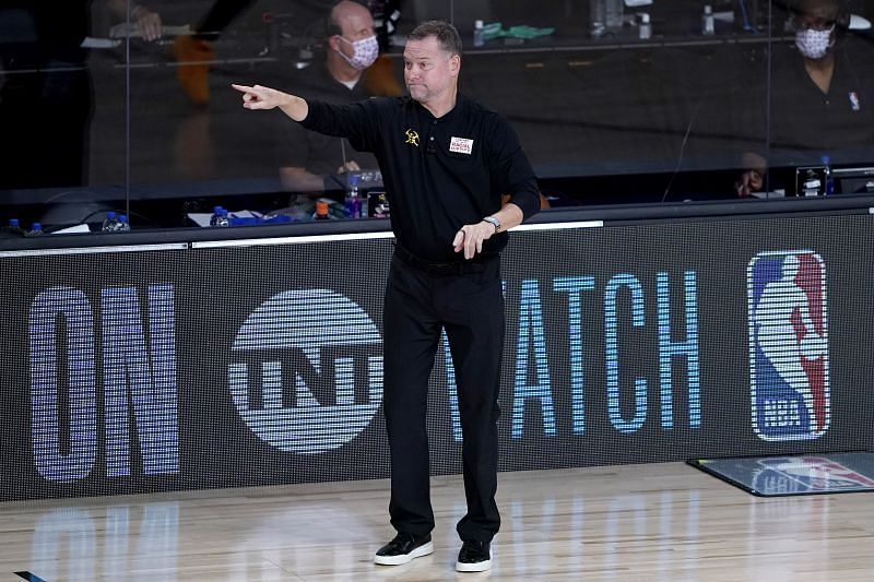 Denver Nuggets coach Mike Malone
