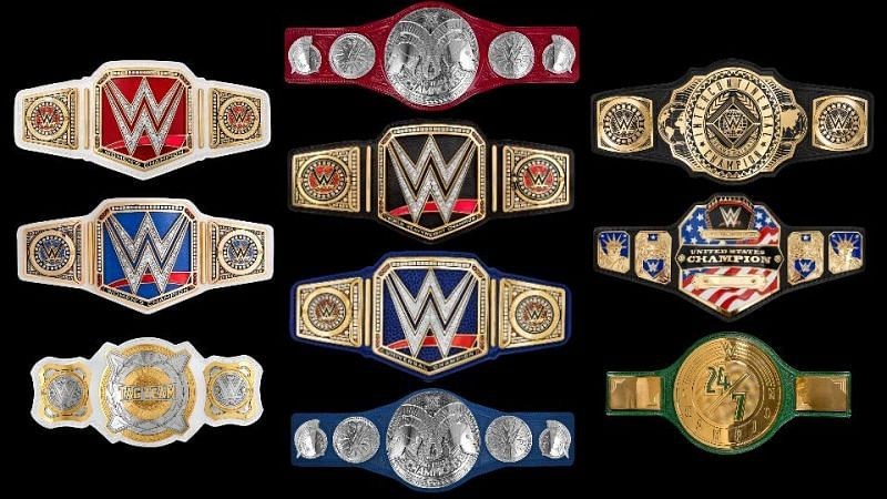 WWE currently has too many titles.
