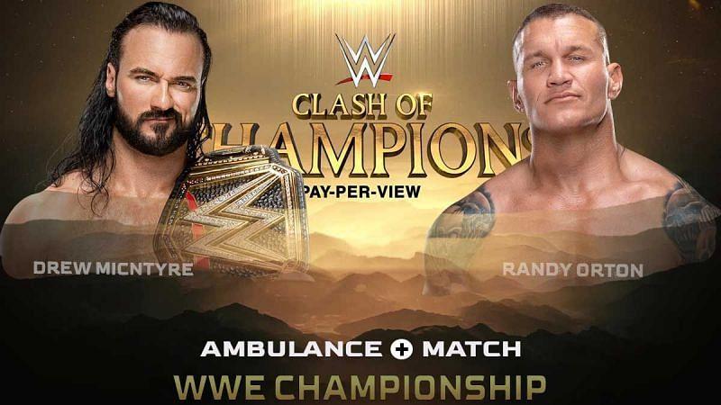 क्लैश ऑफ चैंपियंस का WWE चैंपियनशिप मैच