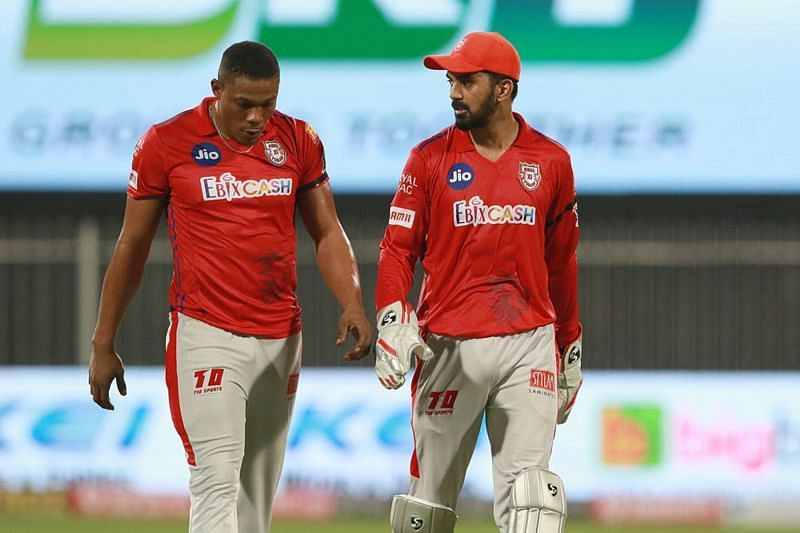 Sheldon Cottrell was distraught after Rahul Tewatia