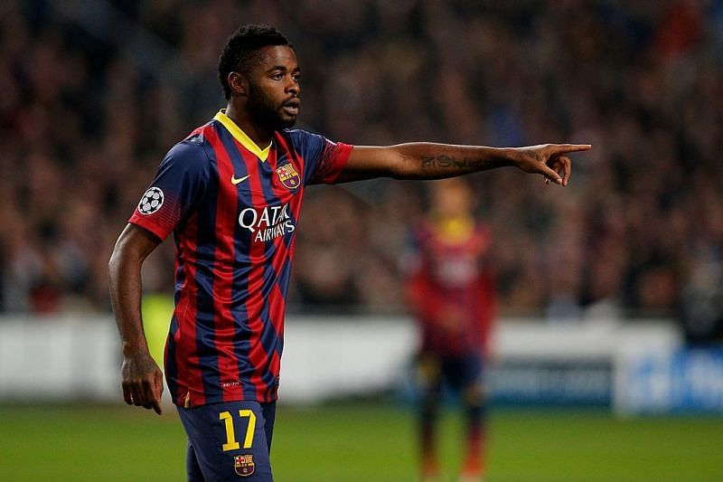 Alex Song was a square peg in a round hole at Barcelona.