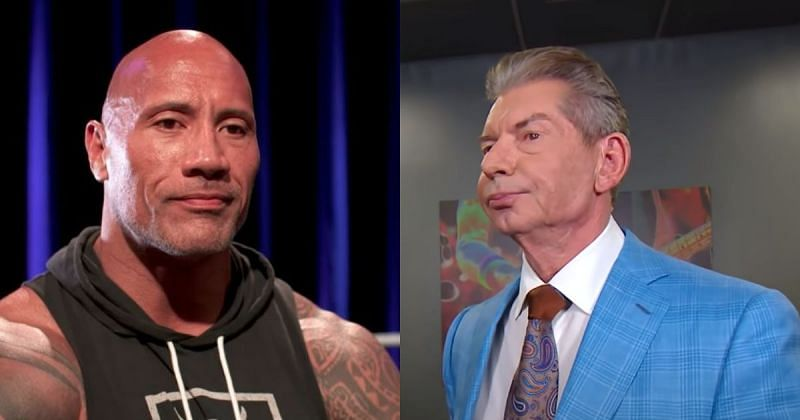 The Rock and Vince McMahon.