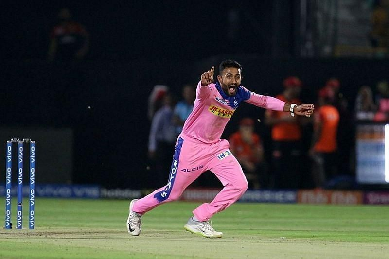 Shreyas Gopal had stood out for Rajasthan Royals as a bowler in IPL 2019