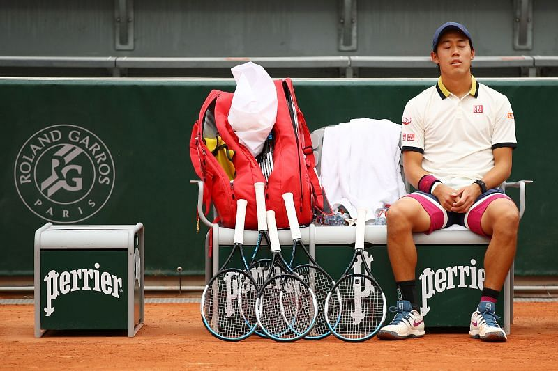 Kei Nishikori at 2020 French Open
