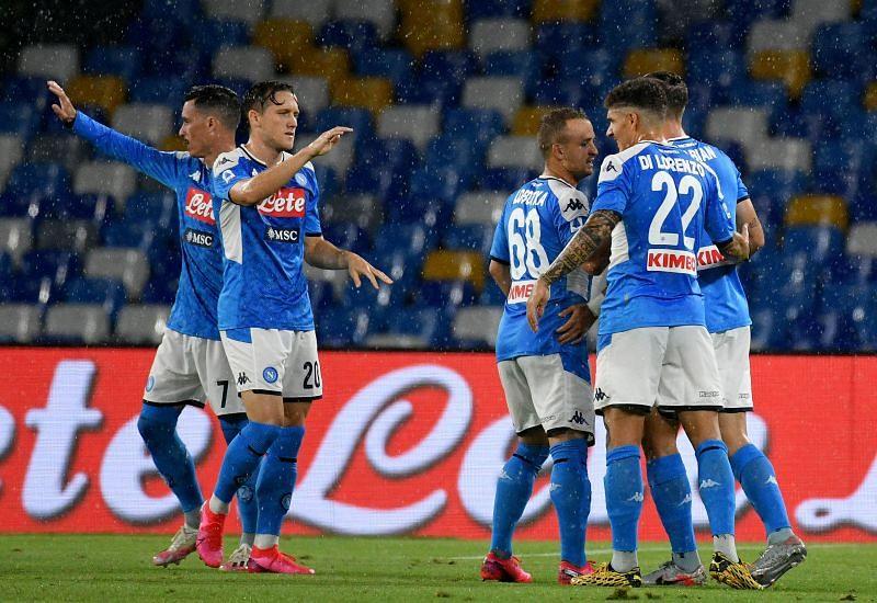 SSC Napoli will face Genoa on Sunday