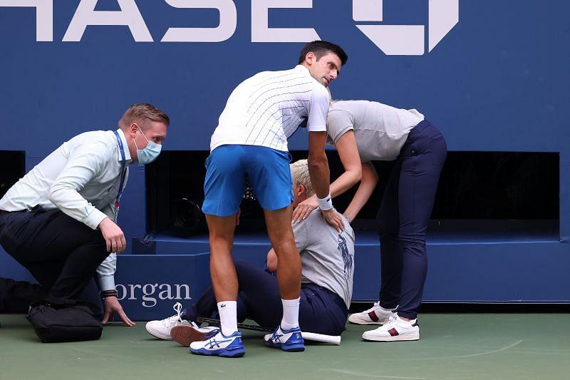 World No.1 Novak Djokovic was not given any mercy