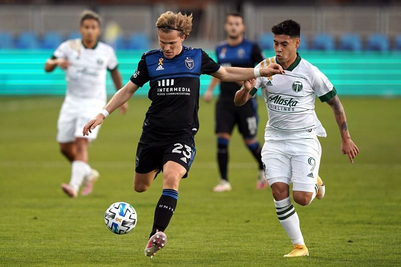 San Jose Earthquakes vs Portland Timbers