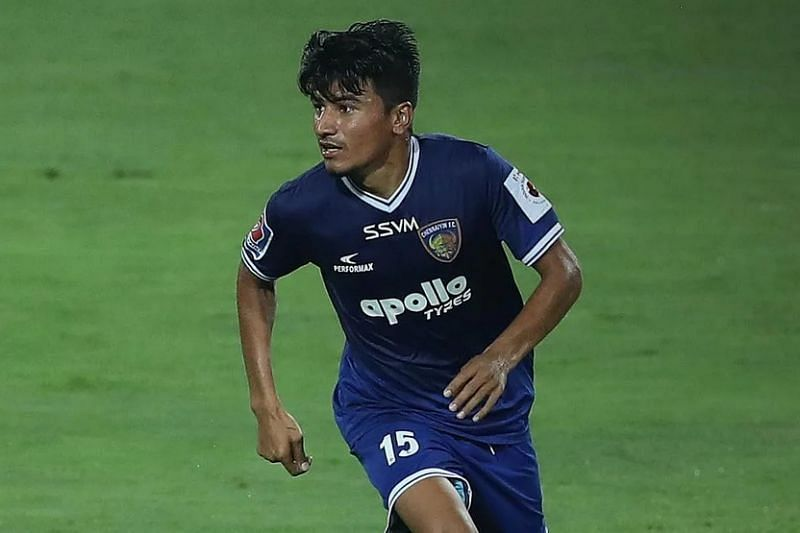 Anirudh Thapa is one of the key players in the Chennaiyin FC squad