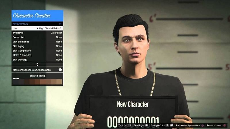 GTA 6 could benefit a lot from an in-depth character creation suite (Image Credits: BarkingPalsy, YouTube)