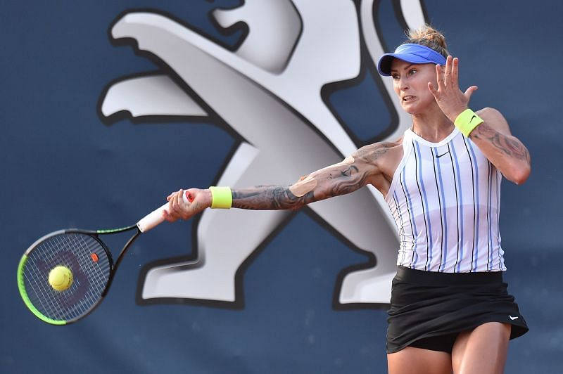 Polona Hercog at the Palermo Open 2020