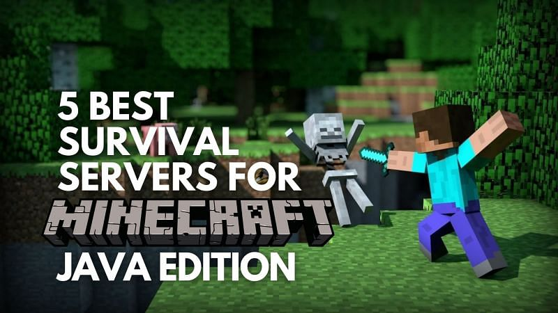 Five best survival servers for Minecraft Java Edition