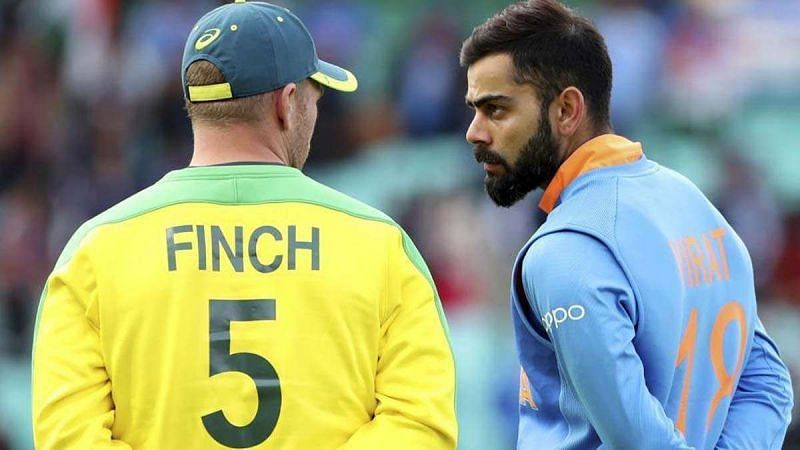 Aaron Finch said he is enjoying playing under Virat Kohli (Image Credits: India TV News)