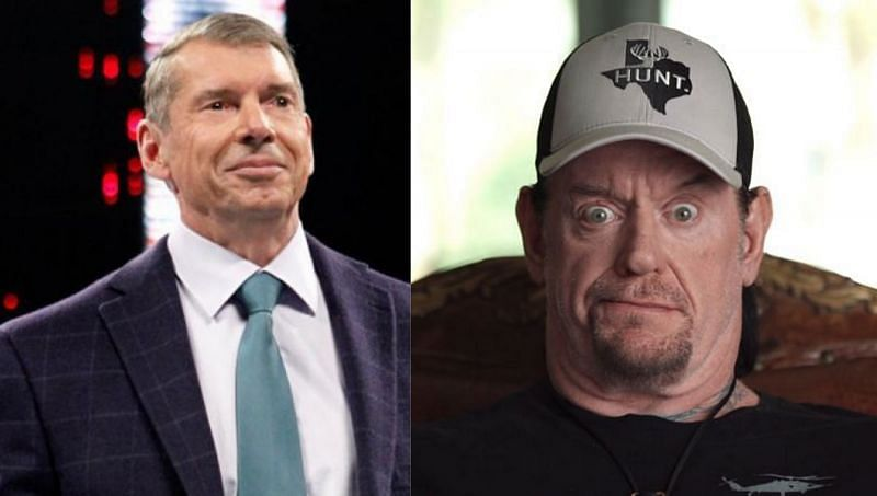 The WWE Chairman Vince McMahon; The Undertaker
