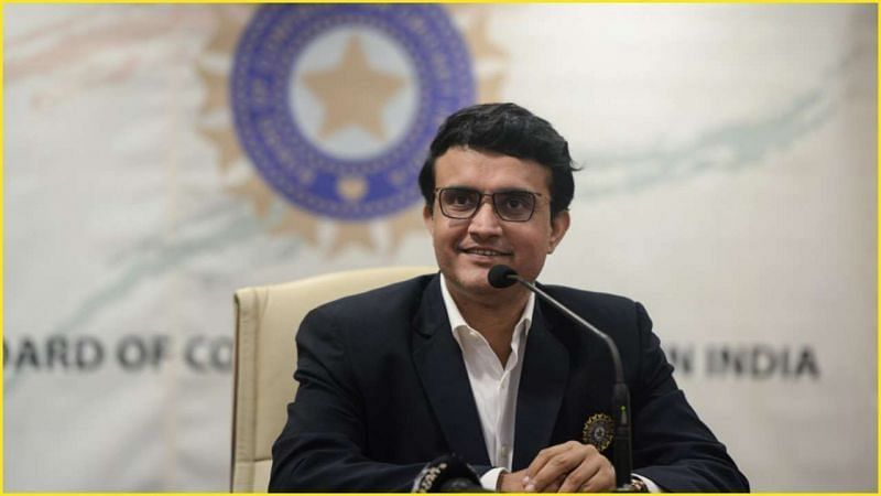 The Sourav Ganguly-led BCCI successfully negotiated the issue with the UAE authorities. (Image Credits: DNA India)