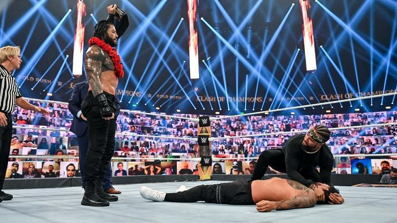 Roman Reigns turn to the dark side is finally complete at WWE Clash of Champions