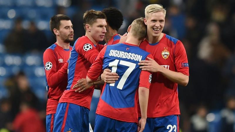 CSKA Moscow would take on FC Ufa this weekend