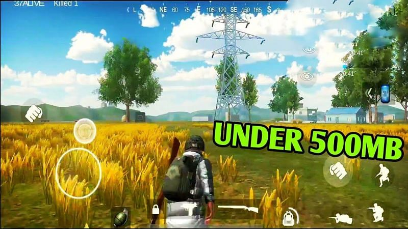 Best games like PUBG Mobile Lite under 500 MB. Image Credits: Piyush (YouTube).