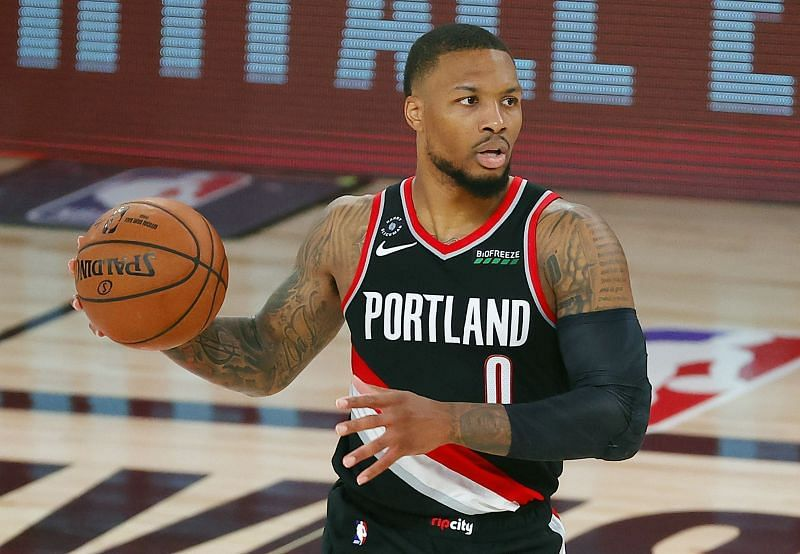Damian Lillard is one of the top shooters in the NBA right now.