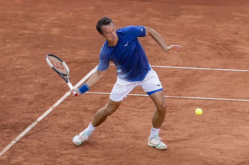 The biggest challenge before Philipp Kohlschreiber will be to match Cristian Garin