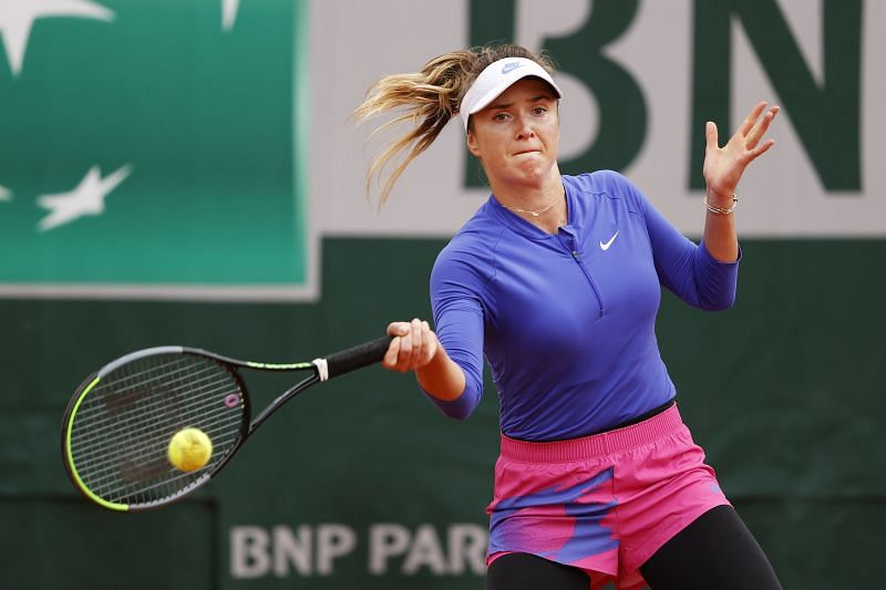 Elina Svitolina at the 2020 French Open