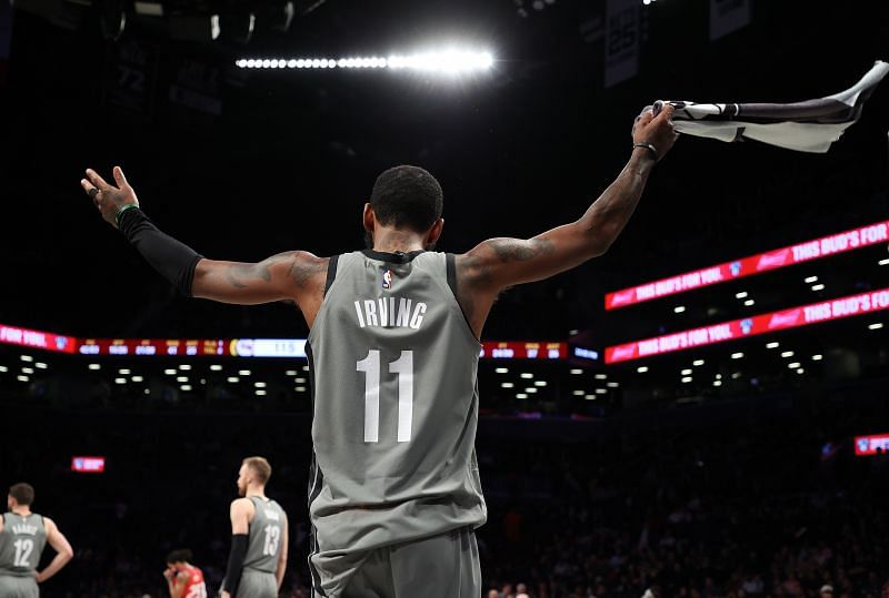 Kyrie Irving will be the starting point guard for the Brooklyn Nets next season