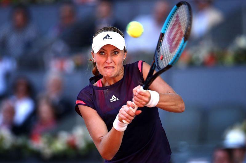 Kristina Mladenovic at the Mutua Madrid Open 2019