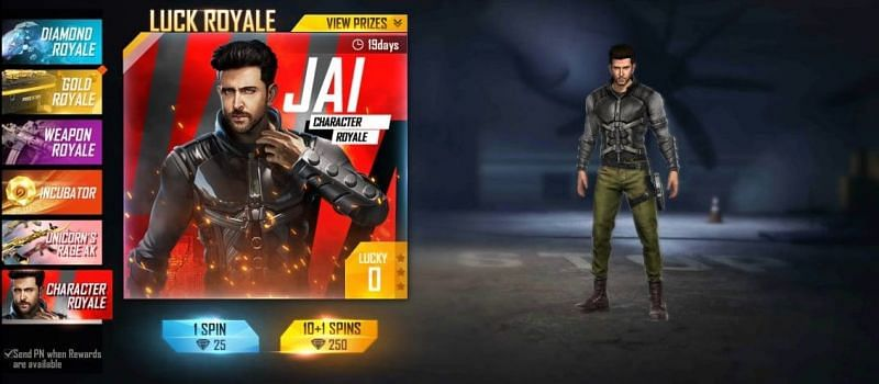 Hrithik Roshan's Jai Character in Free Fire: All you need to know
