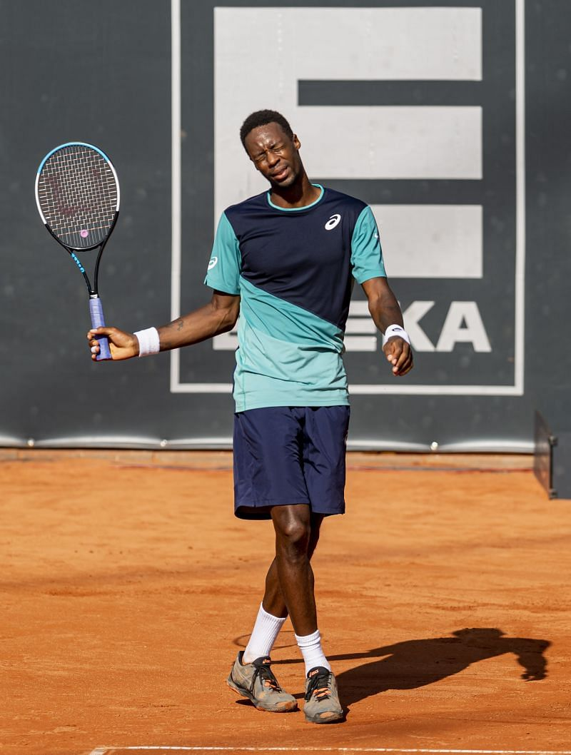 Gael Monfils at the Hamburg Open 2020